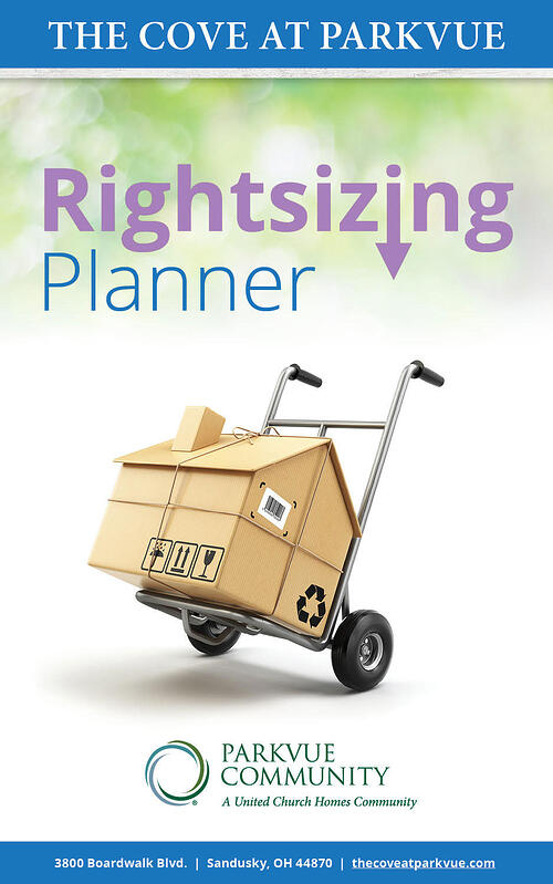 The Cove at Parkvue Rightsizing Planner